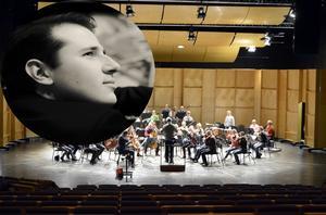 Nordiska Kammarorkestern är som vanligt navet i Kulturfestivalen.  Men i år får vi också lyssna till pianisten Stanislav Khristenko. Bild på Khristenko: Tania Chu