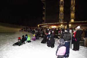 Åtskilliga hade kommit för att se premiären av årets Wild Kids.