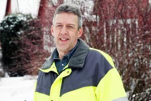 Ulf Ståhlberg, gatuchef i Ovanåkers kommun.