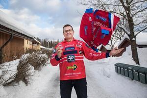 Jerker Persson på väg mot sin 46:e bandyfinal.