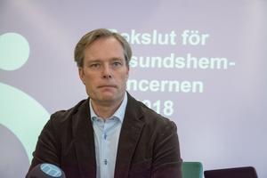 Mattias Lööv är styrelseordförande i Östersundshem AB.