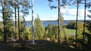 Utsikt över Åmänningen. Foto: Fastighetsbyrån Fagersta