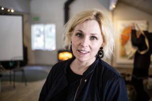Helena Brusell  bjöd in till  temadagen om skogsprodukter.