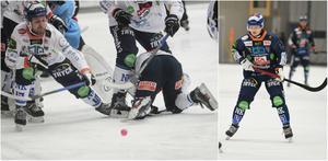 Två av förra säsongens nyförvärv: Joel Wigren och Kasper Milerud.