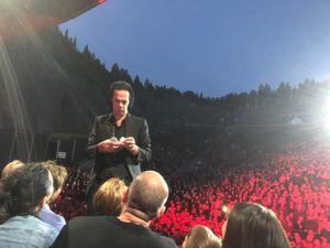 Lånade en bild från Twitter av Nina Johansson som var uppe på scenen! Foto: Nina Johansson.