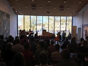 Falu kammarmusikdagar avslutades med 3x Bach på Dalarnas Museum.  Foto: Linda Hellstrand
