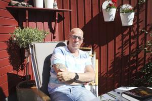 Mönstrar på. Johnny Andersson ser fram emot att få gå ombord Ostindiefararen Götheborg.