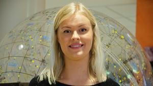 Josefine Nittler har fått ett fin astronompris.