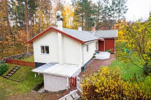 En fyrarumsvilla i Krondiket hamnade på tionde plats. Foto: Länsförsäkringar Fastighetsförmedling Falun