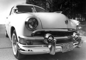 Forden var då, enligt ÖP, Sveriges mest kromade bil.