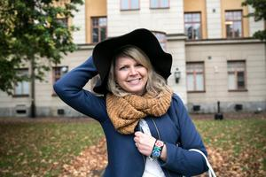 Sofia Jarl (C), vice ordförande för Region Dalarna, som ansvarar för projektet Almedalarna.