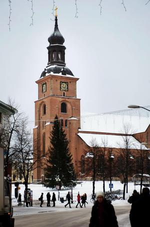 Kristine kyrka (invigd 1655) vid Stora torget i Falun.