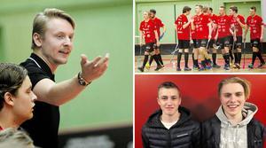 Tom Nilsson tränar nystartade – och hårdsatsande –Sundsvall FBC, Timrå IBC är nya i serien och siktar först och främst på att klara sig kvar. Och i Sundsvall FBC Ungdom återfinns lokala stortalanger. Som duon Viktor Hammarstedt och Marcus Carlsson som valde bort RIG i Umeå för att stanna i Sundsvall och utvecklas här.