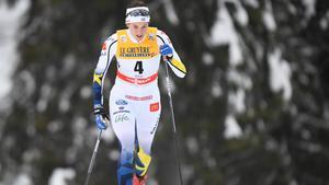 IFK Moras Anna Dyvik gjorde två fina distanslopp i Vuokatti, men har  ännu inte hittat den sprintform som tog henne i till OS i Pyeongchang. Foto: Anders Wiklund/TT