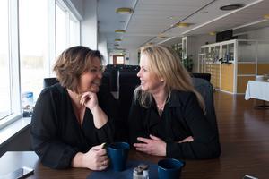 Det råder ingen brist på idéer då det kommer till hur Solänget ska utvecklas. Problemet ligger snarare i att få tiden att räcka till för Erika Howcroft och Camilla Schildt.