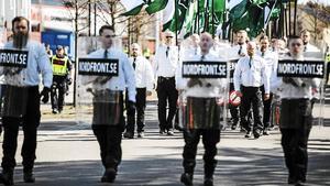 NMR har beviljats tillstånd av polisen att demonstrera i Fagersta första maj, det är dock fortfarande oklart om de kommer genomföra demonstrationen.