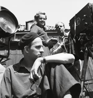 Porträtt av regissören som ung. Jane Magnusson som tidigare gjort SVT-serien