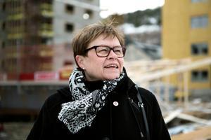 Elvy Söderström (S), ordförande för Norrtåg. Bild: Jennie Johansson.