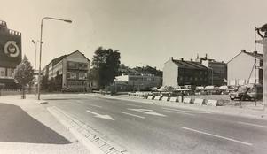 Stora gatan/Kopparbergsvägen 1982.