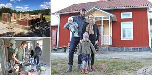 Vad gör man om man hittar drömhuset och drömhuset står på fel plats? Man gör som Mia och Gustav i Lindesberg och köper huset och flyttar hela huset dit man vill ha det.