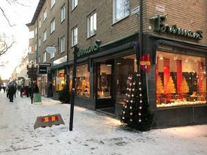 Burmans skor på Prästgatan i Östersund.