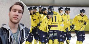 Rasmus Hård gjorde sitt första elitseriemål på lördagen. Bild: Privat/TT