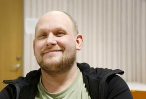 Niklas Hamberg är enhetschef för bland annat måltidsservicen på Wargentinsskolan.