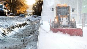 Spåriga vägar, halka och snövallar har varit några av problemen som snön orsakat den här vintern. Bilden är ett montage. Foto: Arkivbilder