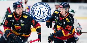 Emil Bemström och Olle Alsing har skrivit på NHL-kontrakt. Foto: Bildbyrån