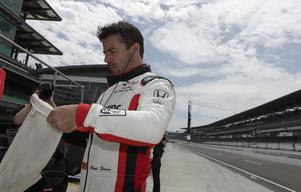 Oriol Servià under fjolårets Indy 500, då han körde för Rahal Letterman Lanigan Racing. Arkivfoto: Michael Conroy/TT