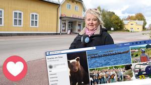 Katarina Cham Sjödén, reporter, är en av gruppens administratörer.