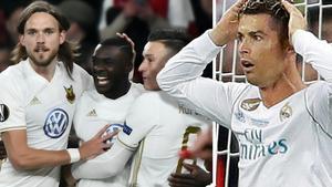 ÖFK slog Ronaldo och hans polare i tv-matchen.