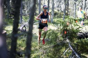 Fanny Borgström, Duved, blev tvåa i damernas 21 kilometer.