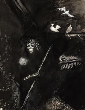 Norrköpings konstmuseum visar 200 av Greta Knutson-Tzaras verk. Foto: Norrköpings Konstmuseum/Pressbild