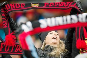 Biljettpriserna höjs när Arsenal gästar Jämtkraft Arena i februari.