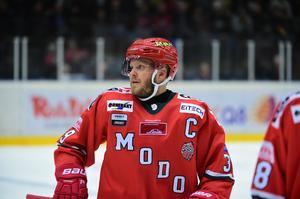 Modo-kaptenen Tobias Enström missar även kvällens möte med AIK.