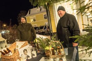 Lokala ölbryggare från Älvros bjöd på provsmakning av sina produkter.
