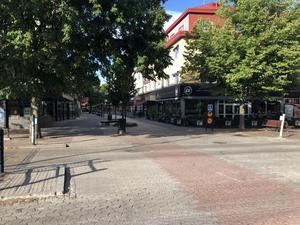 Borlänge, En varm sommarkväll, Efter en förfärlig händelse. Foto: Göran Greider.