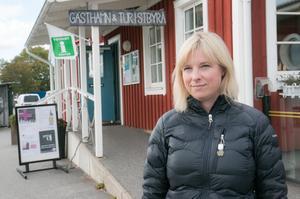 Kristina Stugholm, föreståndare på Nynäshamns besökscenter.