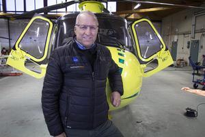 Thure Waplan är driftschef hos Babcock och son till grundaren av Waplans mekaniska i Vaplan, nuvarande Andritz Hydro. Men han tog inte över efter pappan, han blev helikopterpilot.