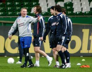Ally McCoist är tränare i Glasgow Rangers.