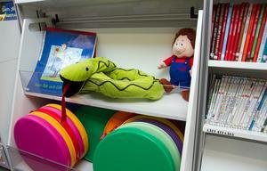 Barn i förskola och skola är en viktig målgrupp för bokbussens verksamhet.