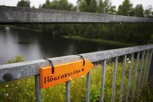 Den sista avrättningsplatsen i Jämtland finns längs Högforsleden.