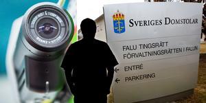 En man i 40-årsåldern döms till dagsböter för brott mot kameraövervakningslagen. Foto: Nora Lorek, Tomas Nyberg