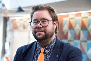 Joel Nordkvist (M) är ordförande för barn- och utbildningsnämnden.