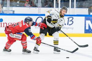 Fredric Weigel är AIK:s poängbästa spelare så här långt. Men det finns mer att hämta hos Gnaget. Foto: Daniel Nestor / Bildbyrån