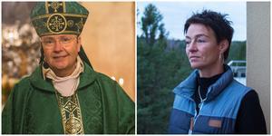 Biskop Johan Dalman vill träffa Katia Postol.