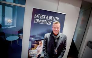 Kontorschef Niklas Hoffström förväntar sig en bättre morgondag.