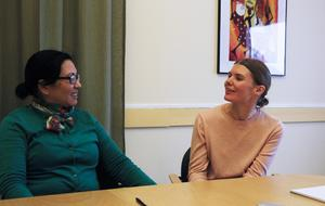 Chung Jansson och Anna Engqvist är lärare på Forsa folkhögskola och har mött många nyanlända akademiker.