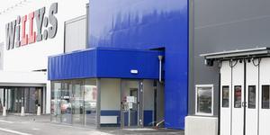 Actic öppnade ett nytt gym på Vasa handelsplats i helgen. På tisdagen hade man ännu inte hunnit få loggorna på plats.
